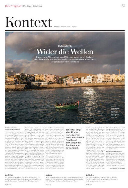 Bieler-Tagblatt—Kontext—Gran-Canaria—Doppelseite-1